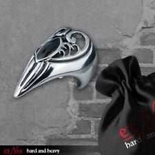 Gothic Fingerspitzenring Nagelring Onyx Kralle Klaue Krallenring Vampir SR1170