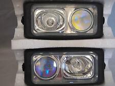 "CHEVROLET 6.5"" X 3"" DUAL TWO FOG LIGHTS UNIVERSAL CAR TRUCK SUV  4 LIGHTS TOTAL"