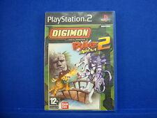 *ps2 DIGIMON RUMBLE ARENA 2 (NI) Digimon Action Adventure Playstation PAL UK