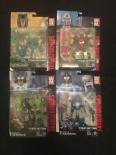 Transformers Titans Return Lot Chromedome Highbrow Hardhead Brainstorm New Rare