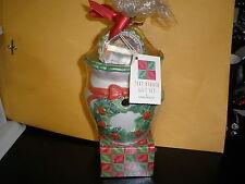 Yankee tart burner gift set Christmas wreath  3 tarts tart burner + 12 tealights