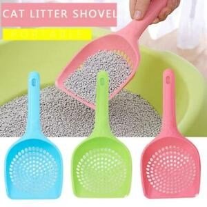 Plastic Cat Litter Scoop Pet Care Sand Waste Scooper Shovel Hollow Cleaning