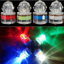 LED Deep Drop Underwater Diamond Flash Fishing Light Squid Strobe Bait Lure NEW