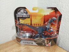 🦖 Jurassic World Velociraptor Attack Pack Action Figure Basic Dinosaur Mattel