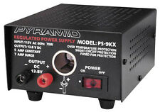 Pyramid PS9KX Regulated 12 Volt, 5 Amp Power Supplies, Fully Regulated