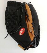 "Rawlings Renegade RS1400 Softball Glove Mitt Baseball 14"" RHT Leather"