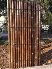 Finest Quality Bamboo Fence Panels 2.2m High x 1.0m Wide 100% Guaranteed