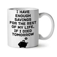 Life Saving Joke Funny NEW White Tea Coffee Mug 11 oz | Wellcoda