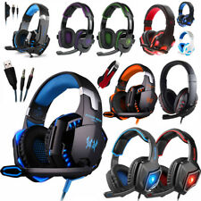 3.5 mm Gaming Headset Mic Auriculares estéreo envolventes para PS3 PS4 Xbox One 360 PC