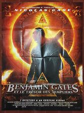 Affiche BENJAMIN GATES ET LE TRESOR DES TEMPLIERS National Tresure 120x160cm