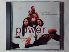 ZIGGY MARLEY AND THE MELODY MAKERS Power to move ya cd singolo PR0M0 USA 2 TRKS