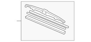Genuine Toyota Wiper Blade 85222-52170
