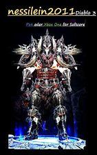 Diablo 3 RoS Ps4/Xbox One - Babar/Babarian - Das Erbe Raekor  - URALT - Unmodded