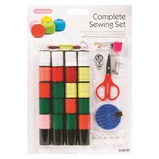 Macchine da cucire, Pack Kit Set filo ago forbici misura Threader ditale DW