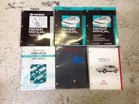 1992 TOYOTA CELICA Service Repair Shop Manual Set W EWD TSB Trans Bk + OEM