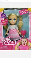 """Love Diana Mashups Birthday 6"""" Doll & Brush PocketWatch Christmas Toy 2020 New"""