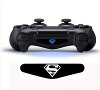 Superman Controller Light Bar  Aufkleber Sticker PS4 Playstation 4