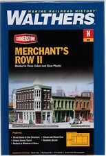N Scale Walthers Cornerstone 933-3224 Merchant's Row II Building Kit