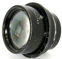 Dallmeyer PENTAC F=8'' F/2.9 A.M. Air Ministry LARGE Format British Lens RARE!