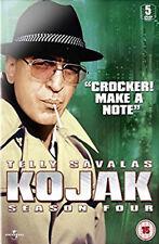 KOJAK COMPLETE SERIES 4 DVD Fourth Season Telly Savalas Dan Frazer Kevin UK New