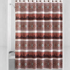 Southwest Aztec Sunset Fabric Shower Curtain Southwestern Kokopelli Bath Decor