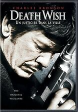 NEW DVD  - DEATH WISH - Charles Bronson, Hope Lange, Vincent Gardenia, CLASSIC