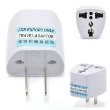 Tour Travel EU UK to US USA AC 2+3 Power Plug Adapter Outlet Converter Universal