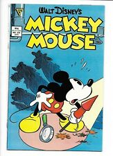 Mickey Mouse #225 Gladstone 1987 NM- 9.2 Daan Jippes cover. Walt Disney.