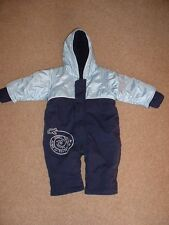 Boy's age 3 - 6 Months Blue Snow Suit from MOTHERCARE