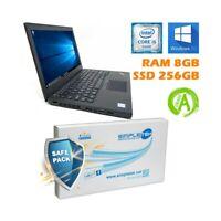 "NOTEBOOK PORTATILE LENOVO X260 I5 6300U 12,5"" DDR4 8GB SSD 256GB TASTIERA ITA."
