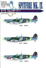 EagleCals Decals 1/48 SUPERMARINE SPITFIRE Mk.IX Fighter Part 3