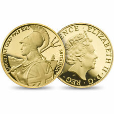 The Britannia 2015 Fortieth-Ounce Gold Proof Coin SMALLEST of the UK's coins