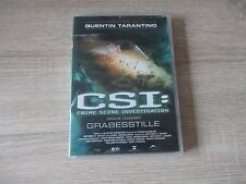 CSI Crime Scene Investigation  DVD  Grabesstille