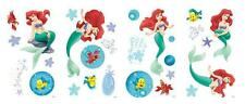 DISNEY PRINCESS THE LITTLE MERMAID ARIEL WALL DECAL GIRLS STICKER MURAL decor