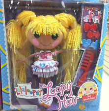 Lalaloopsy - Loopy Hair - Spot Splatter Splash With Hair Clips ** GREAT GIFT **