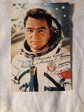Autograph  Soviet Russian   astronaut(Kosmonaut) of the USSR   Grechko