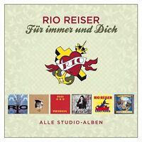 RIO REISER - FÜR IMMER UND DICH-ALLE STUDIO-ALBEN  6 VINYL LP NEU