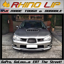 Subaru WRX STi Rubber Front Valance Add-On Trim Chin Lip Under Spoiler Splitter