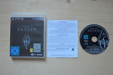 PS3 - The Elder Scrolls V: Skyrim - (OVP, mit Anleitung)