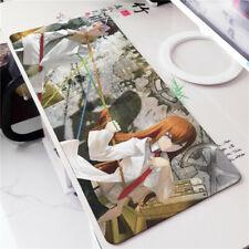 Steins;Gate Kurisu Makise Okabe Rintarou Anime Large Mouse Pad Play Mat 70x40cm