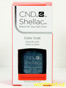 CND Shellac GelColor 0.25fl.oz UV/LED Polish #91586- Shimmering Shores