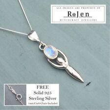 Moonstone Not Enhanced Fine Necklaces & Pendants