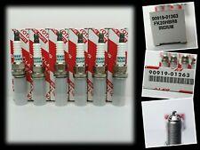 GENUINE LEXUS IS300H SPARK PLUGS 6 CYLINDER DENSO IRIDIUM FK20HBR8 90919-01263
