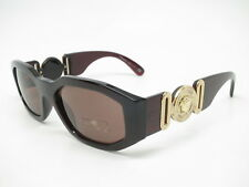 f5c623f76362 New Versace VE 4361 388 73 Transparent Red with Brown Sunglasses