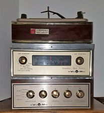 New listing Working Voice Of Music Stereo 4 Speed Turntable 1201 Radio 1435 Amplifier 1441