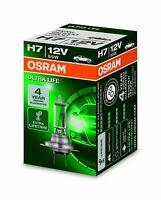 1 Stk OSRAM H7 ULTRA LIFE 55 Watt 12 Volt PKW 64210 Auto Lampe PX26d Birne 55W