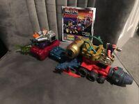 Rare Vintage Toys, Toybiz 1996 Battle Builders Bandai, System 1000, Linking Toy