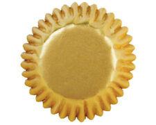 WILTON FOIL prodotti a base di casi / CANDY tazze confezione da 75-ORO (csccmetgold)