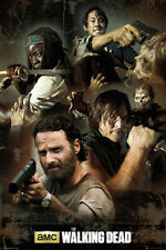 The Walking Dead Collage Poster Print, 24x36