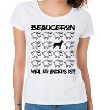 BEAUCERON DAMEN T-SHIRT BLACK SHEEP bFrauen Hund Hunde Fashion Schäferhund